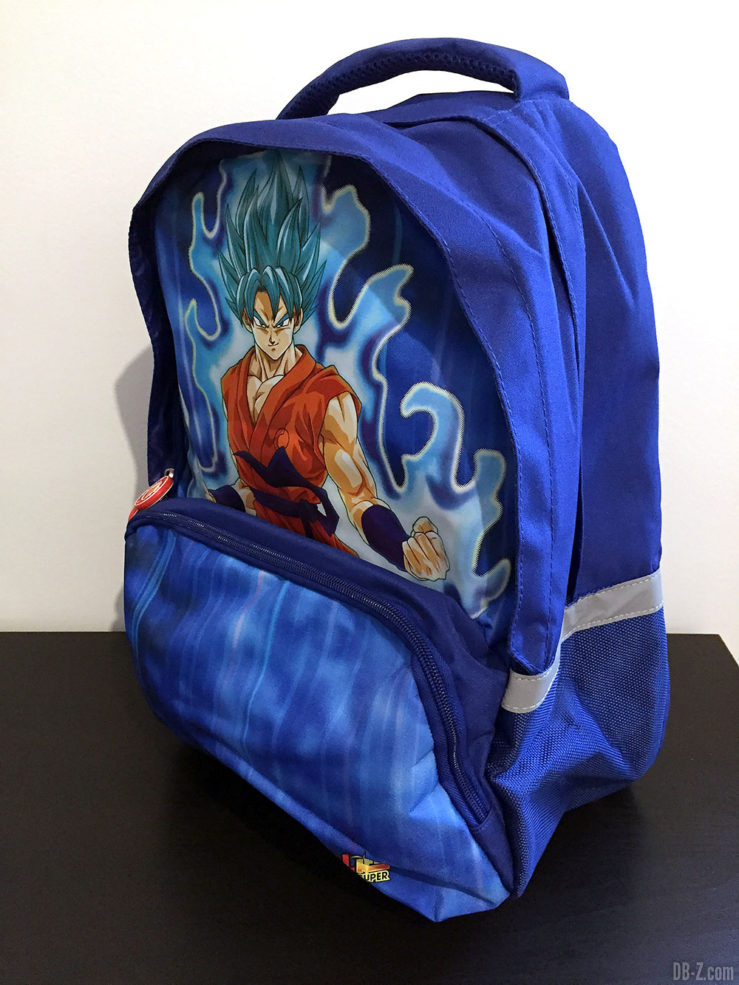 Sac à dos 30x14x40cm Goku Bleu, Dragon Ball Super 1