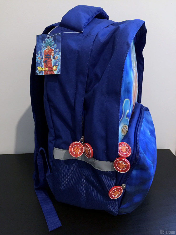 Sac à dos 30x14x40cm Goku Bleu, Dragon Ball Super 18