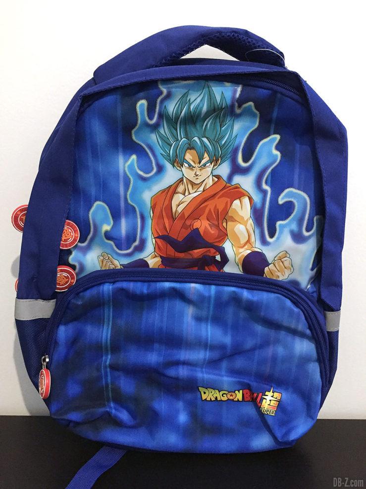 Sac à dos 30x14x40cm Goku Bleu, Dragon Ball Super 5