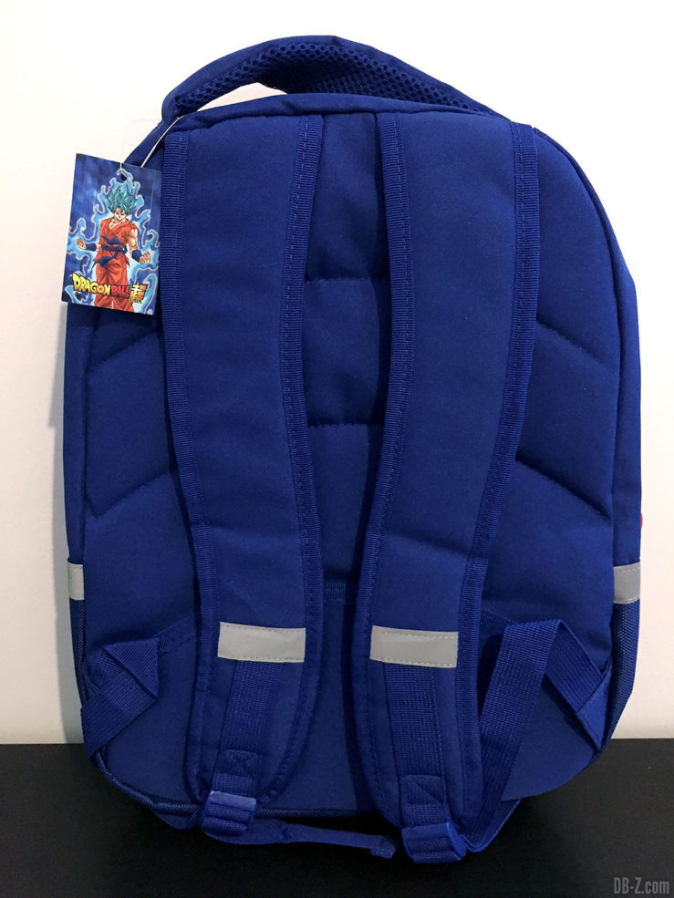 Sac à dos 30x14x40cm Goku Bleu, Dragon Ball Super 6