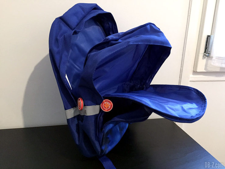 Sac à dos 30x14x40cm Goku Bleu, Dragon Ball Super 9