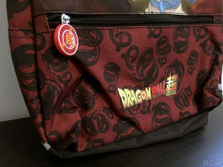 Sac à dos borne 30x15x42cm Goku Noir, Dragon Ball Super 1