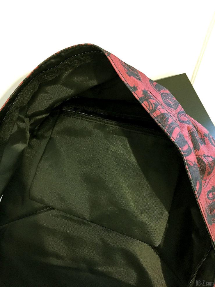 Sac à dos borne 30x15x42cm Goku Noir, Dragon Ball Super 5
