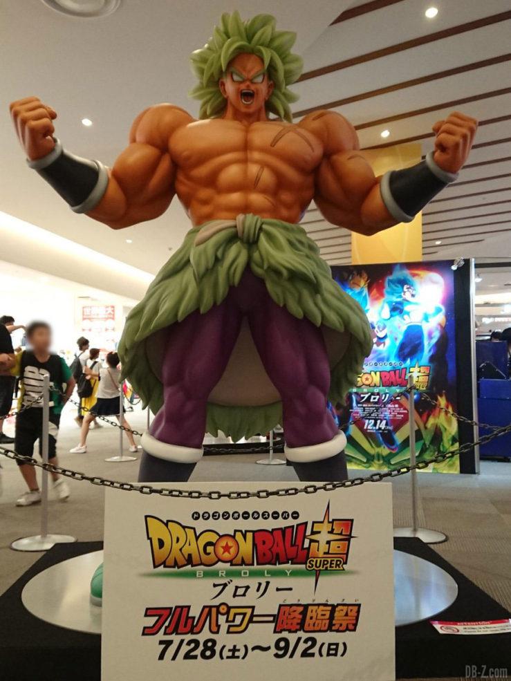 Statue de Broly Super Saiyan Légendaire (film Dragon Ball Super 2018)