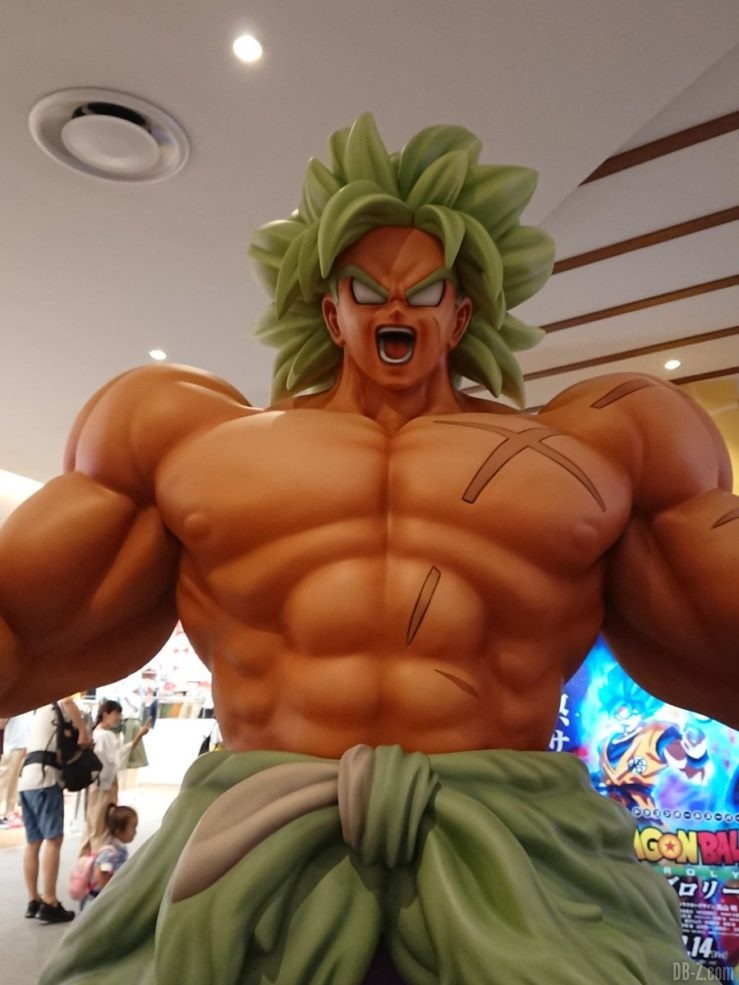 Statue de Broly Super Saiyan Légendaire (film Dragon Ball Super)