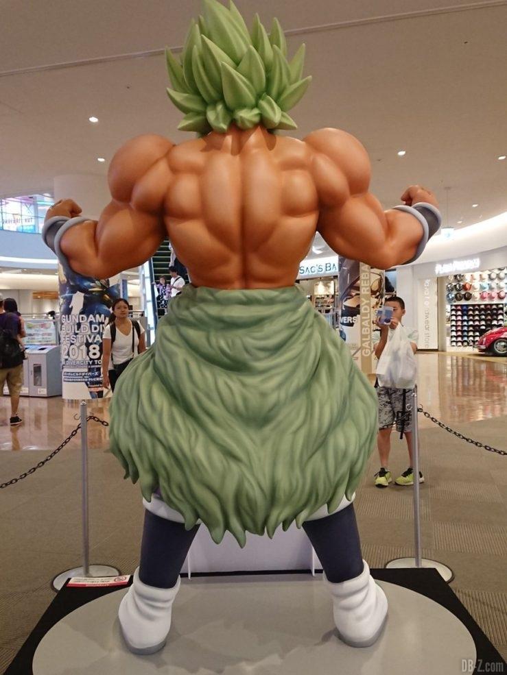 Statue de Broly (film Dragon Ball Super)