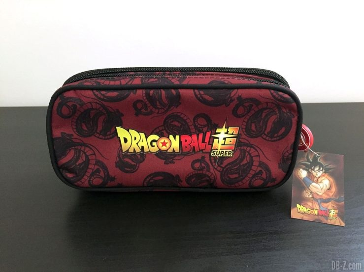 Trousse rectangle 22 x 5 x 10 cm Goku Noir, Dragon Ball Super