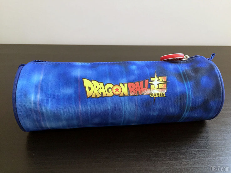 Trousse ronde 7 x 22cm Goku Bleu, Dragon Ball Super