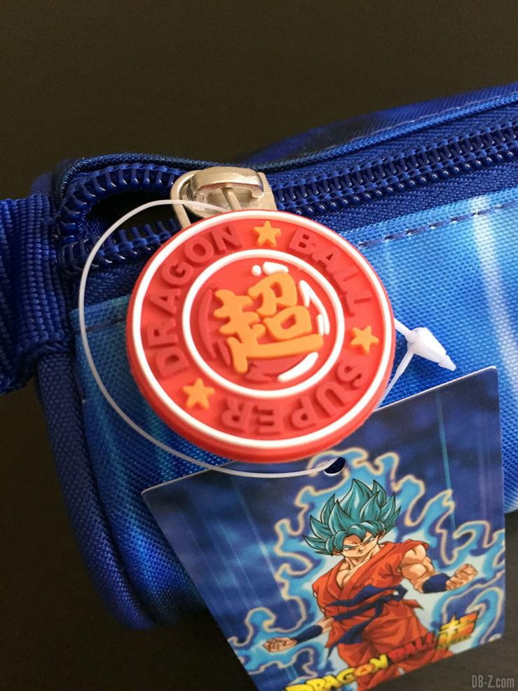 Trousse ronde 7 x 22cm Goku Bleu, Dragon Ball Super 2