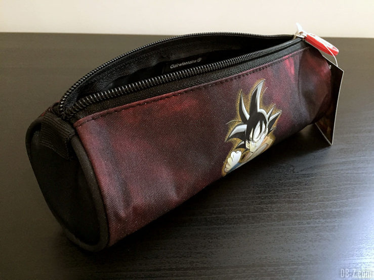 Trousse ronde 7 x 22cm Goku Noir, Dragon Ball Super 4