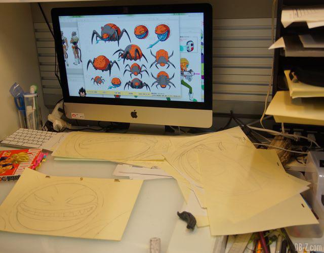 Bureau de Shintani - Film Dragon Ball Super Broly