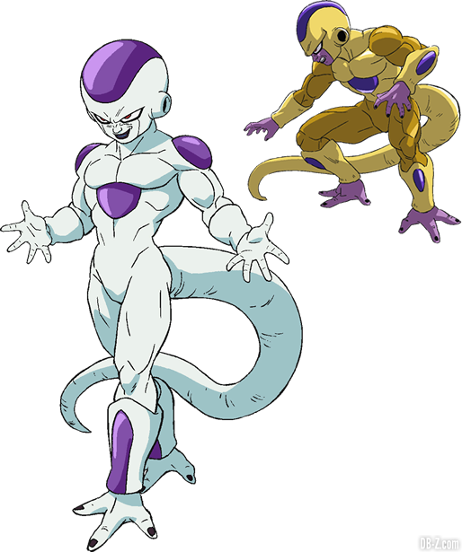 Charadesign de Freezer (Film DBS Broly)