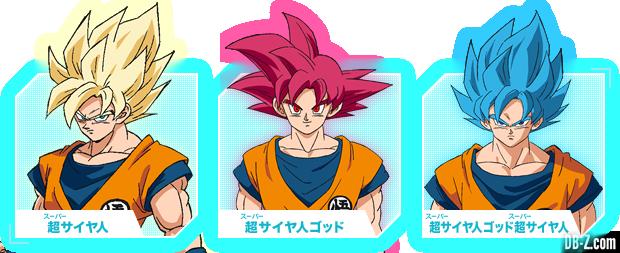 Charadesign de Goku transformé (Film DBS Broly)