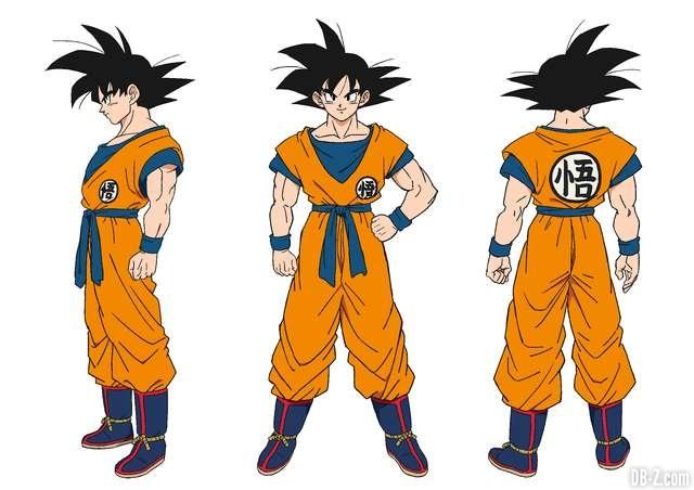 Charadesign de Son Goku (Naohiro Shintani)