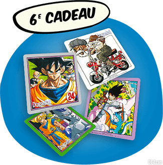 Dragon Ball Intégrale Grand Format Hachette - Cadeau 6