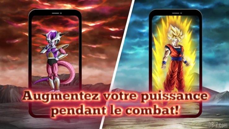 Dragon Ball Z Dokkan Battle - Transformation de Freezer et Goku 1