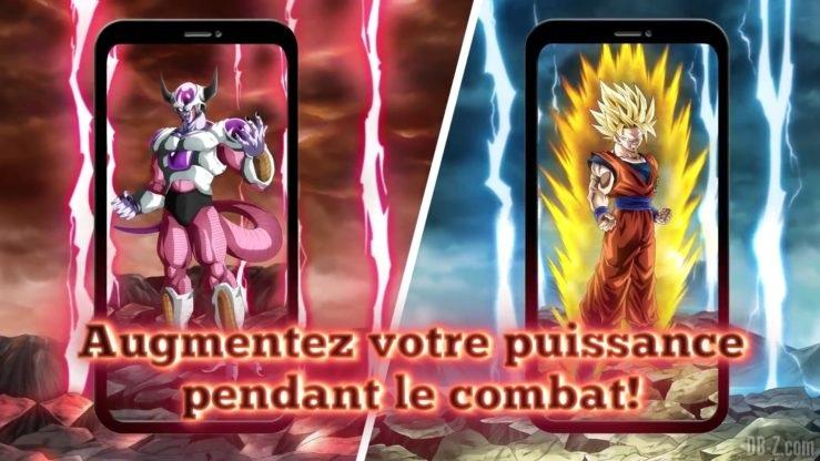Dragon Ball Z Dokkan Battle - Transformation de Freezer et Goku 2