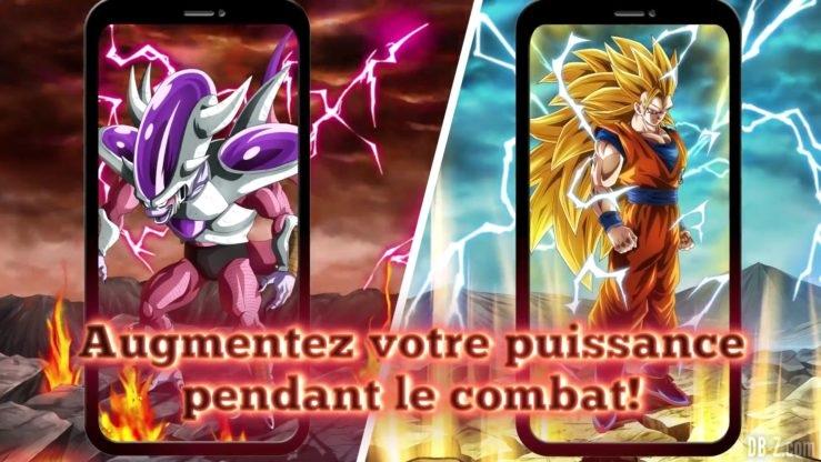Dragon Ball Z Dokkan Battle - Transformation de Freezer et Goku 3