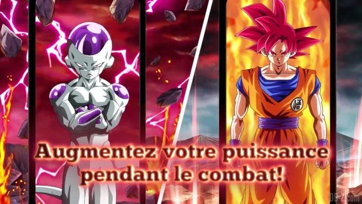Dragon Ball Z Dokkan Battle - Transformation de Freezer et Goku 4