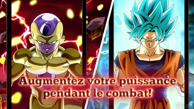 Dragon Ball Z Dokkan Battle - Transformation de Freezer et Goku 5