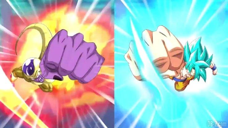 Dragon Ball Z Dokkan Battle - Transformation de Freezer et Goku 6