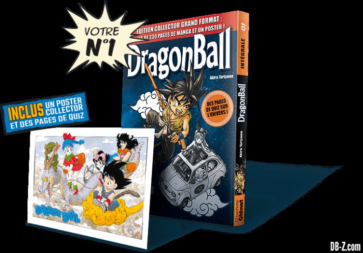 Dragon Ball l'Intégrale n°1 de Hachette Collections