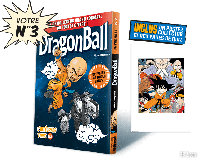 Dragon Ball l'Intégrale n°3 de Hachette Collections