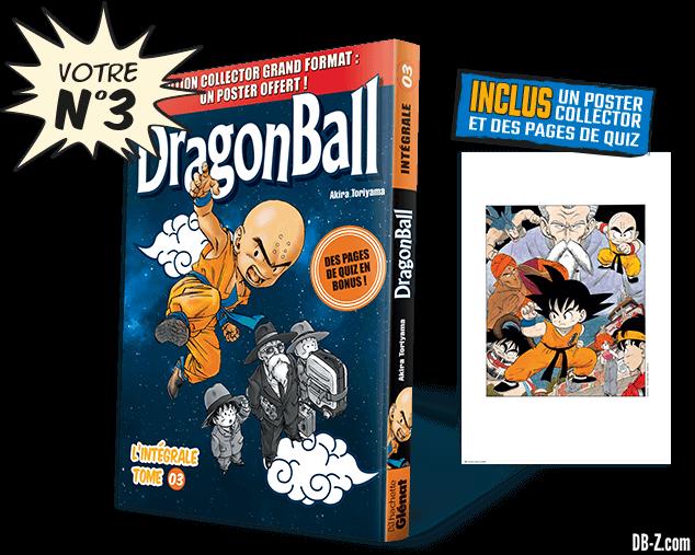 Dragon Ball l'Intégrale n°3 de Hachette Collections