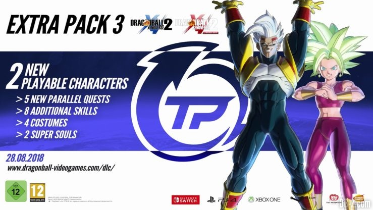 Extra Pack 3 de Dragon Ball Xenoverse 2