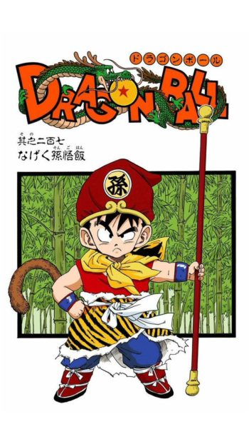 Gohan - cover du chapitre 207 Dragon Ball
