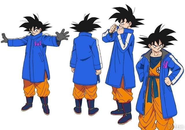 Goku tenue d'hiver - Film Dragon Ball Super Broly