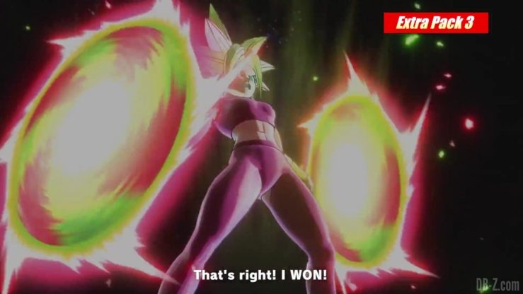Kefla Gigantic Breaker - Extra Pack 3 Dragon Ball Xenoverse 2