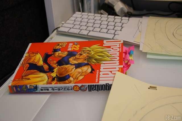 Le manga Dragon Ball est la base de Shintani