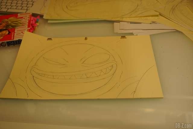 Nouveau monstre dessiné par Shintani - Film Dragon Ball Super Broly