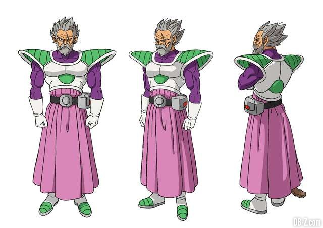 Paragus - Film Dragon Ball Super Broly