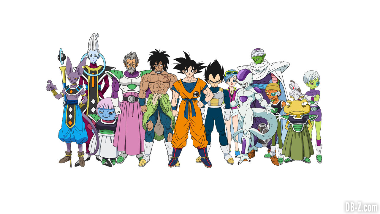 Le site officiel du film dragon ball super 39 broly 39 ouvre sa page personnages - Dragon ball z site officiel ...