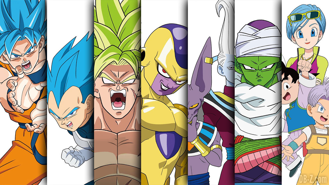 Le Film Broly Dragon Ball Super Devoile Ses Posters Promotionnels