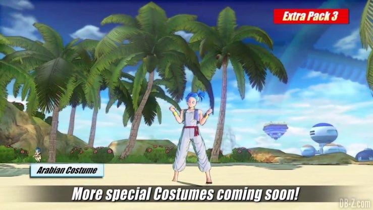 Tenue orientale de Bulma - Extra Pack 3 Dragon Ball Xenoverse 2