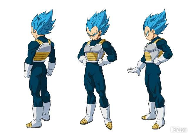 Vegeta Super Saiyan Blue - Film Dragon Ball Super Broly