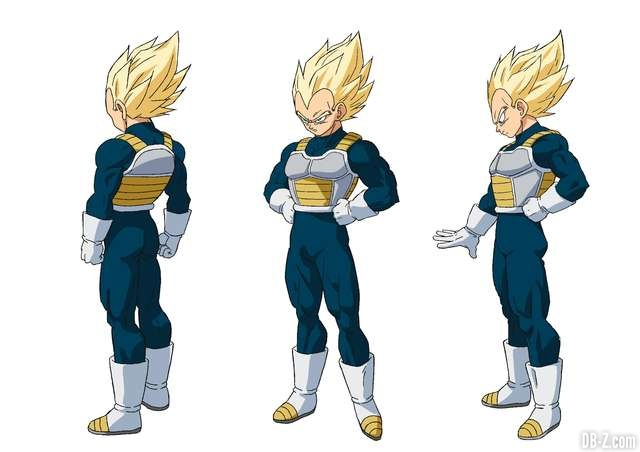 Vegeta Super Saiyan - Film Dragon Ball Super Broly