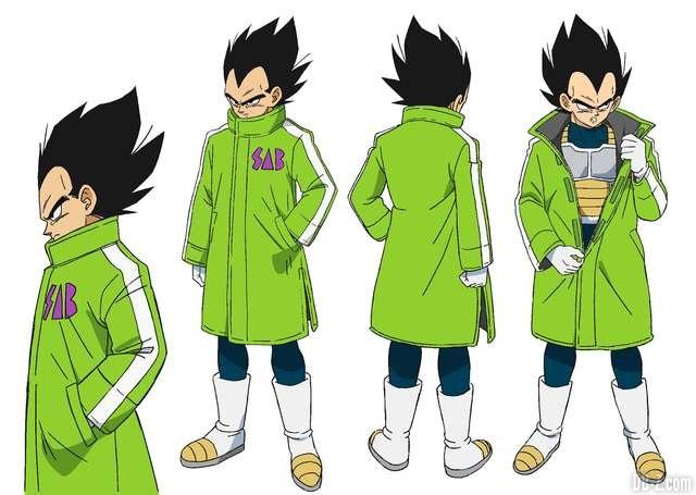 Vegeta tenue d'hiver - Film Dragon Ball Super Broly