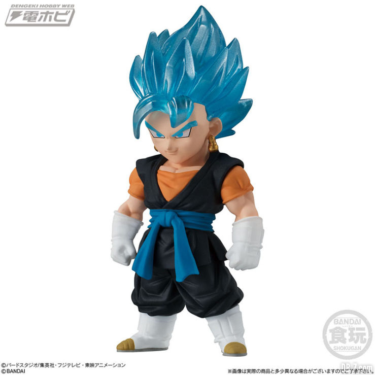 Vegetto Super Saiyan Blue - Super Dragon Ball Heroes Adverge