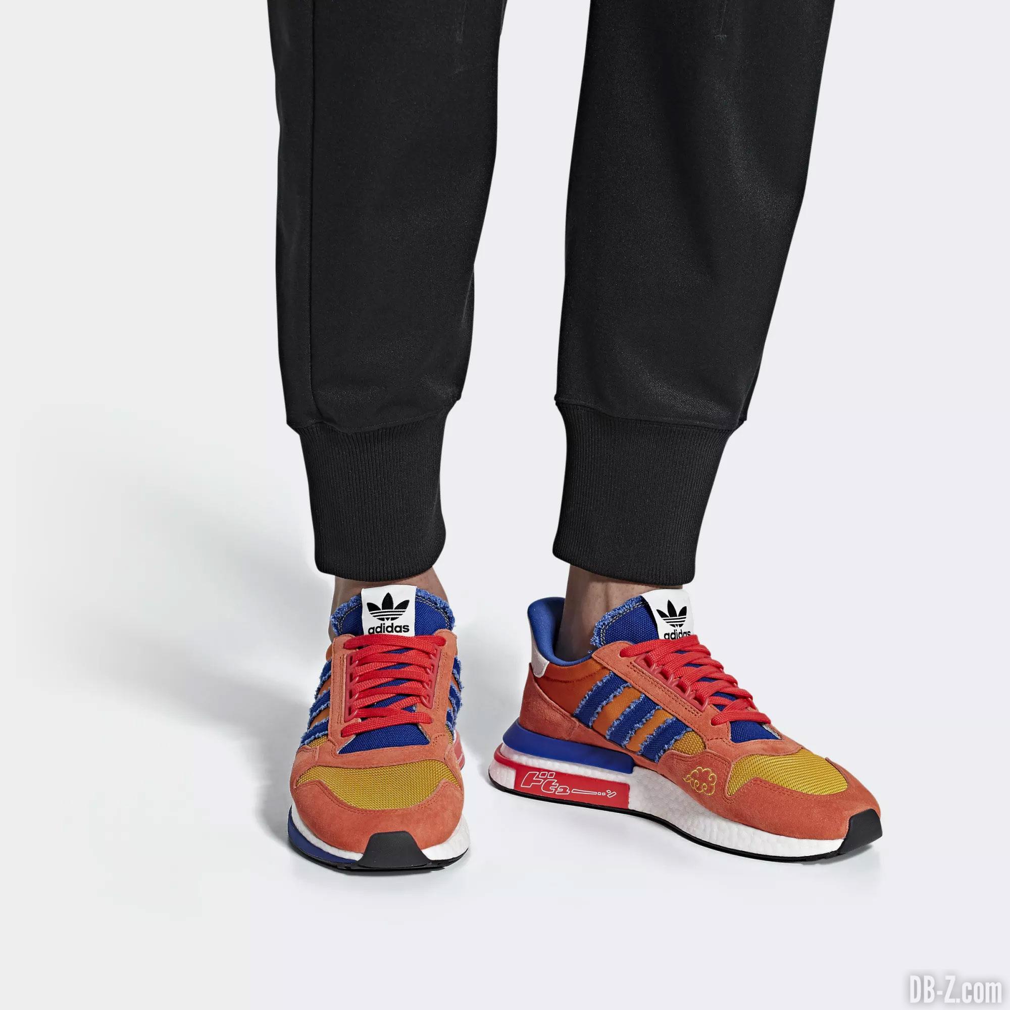 Adidas x Dragon Ball Z : Une ZX 500 RM dédiée à Goku, le