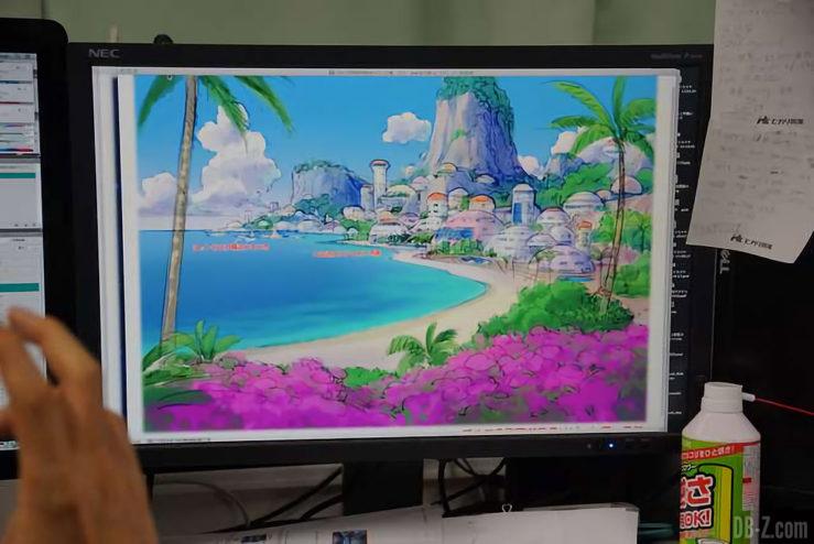 Baie des vacances de Bulma - Film Dragon Ball Super Broly