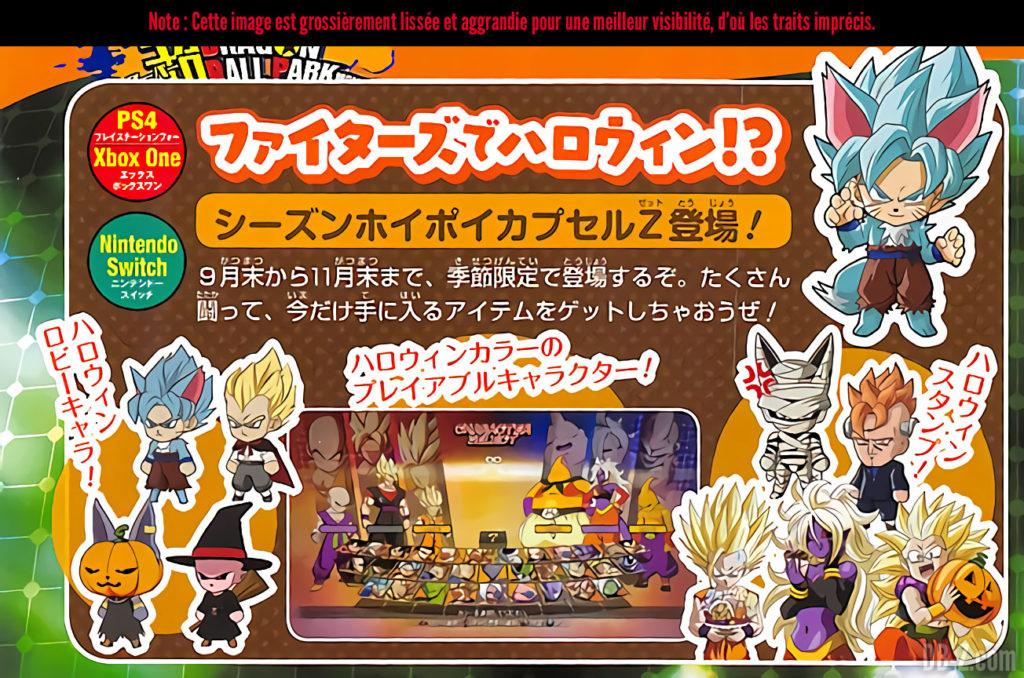Dragon Ball FighterZ - Halloween