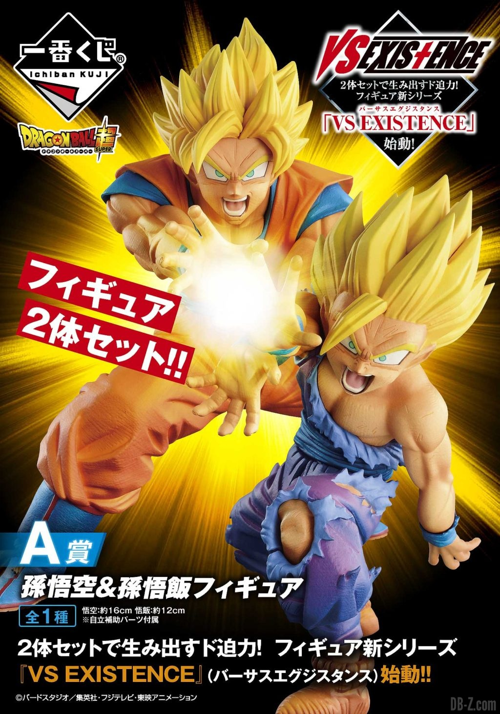 Ichiban Kuji Dragon Ball VS Existence