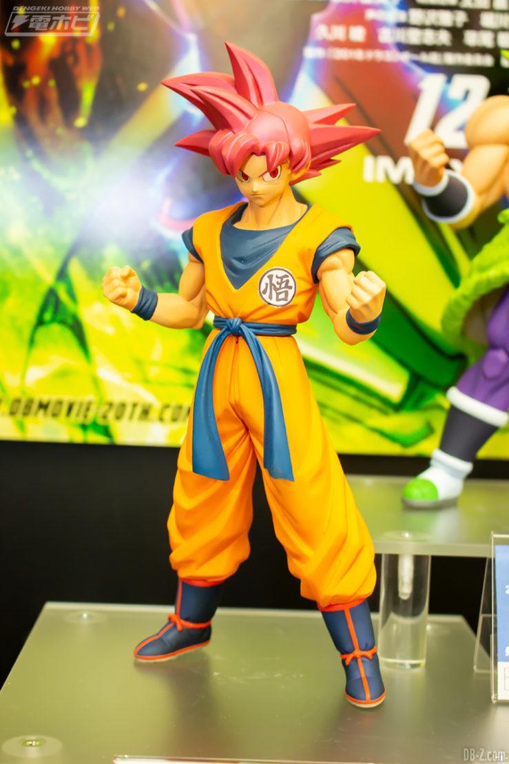 Figurine Son Goku Super Saiyan God - Film Dragon Ball Super