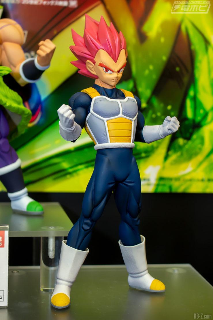 Figurine Vegeta Super Saiyan God - Film Dragon Ball Super