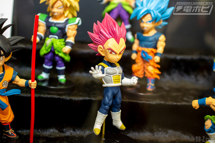Film Dragon Ball Super WCF Vol.1 Vegeta Super Saiyan God