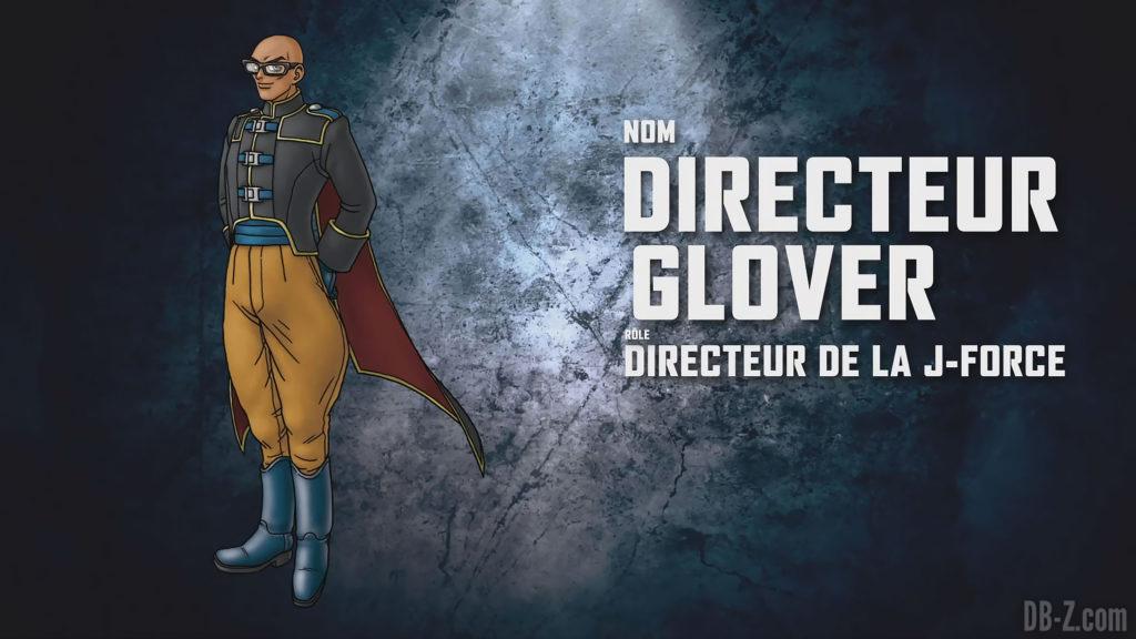 Jump Force - Directeur Glover